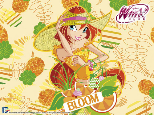 The Winx Club wallpaper probably containing anime entitled bloomy