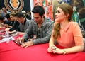 booth signing at comic con - tyler-hoechlin photo
