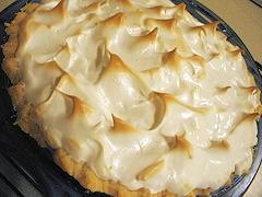 केला, केले cream pie