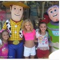 Kenzie,Paige,and Kendall with toy story characters  - dance-moms photo