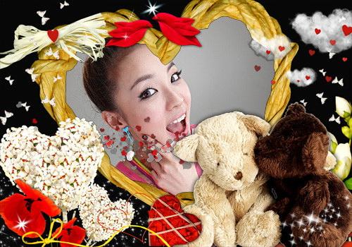 dara love teddy برداشت, ریچھ