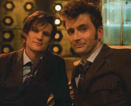 david and matt doctor regeneration