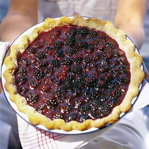 la mûre, blackberry pie