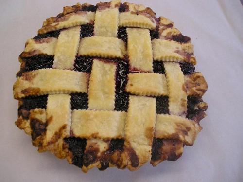 블루 베리, 블루베리 pie