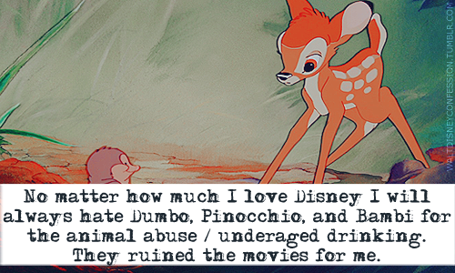 Bambi kertas dinding containing Anime entitled Disney confessions