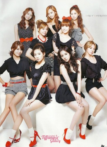 kfashion wallpaper possibly with a portrait titled girls generation