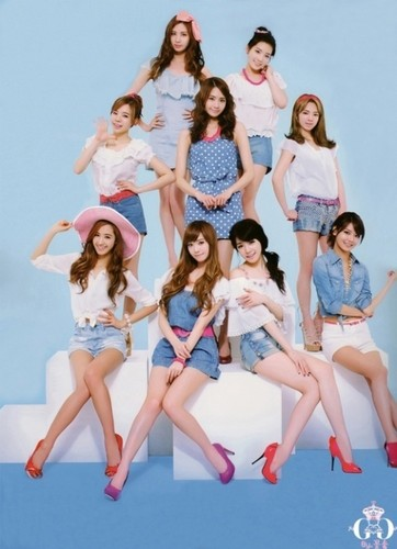 kfashion wallpaper possibly containing a bikini entitled girls generation