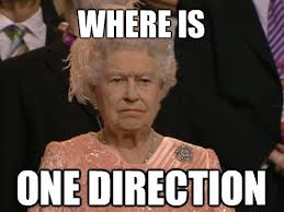 god save the queen... - one-direction Photo