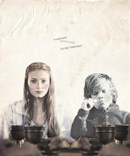 Sansa Stark & Tyrion Lannister