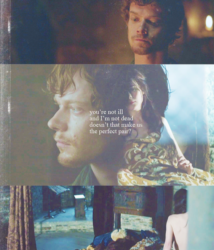 Theon Greyjoy & Jeyne Poole
