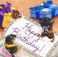 guinea pigs birthday!! - guinea-pigs fan art