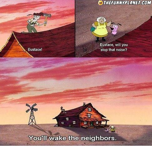 Courage the Cowardly Dog Обои titled hahaha LOL