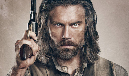 Hottest Actors wallpaper probably with a rifleman entitled hottie Anson Mount
