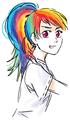 humanized ponies 1