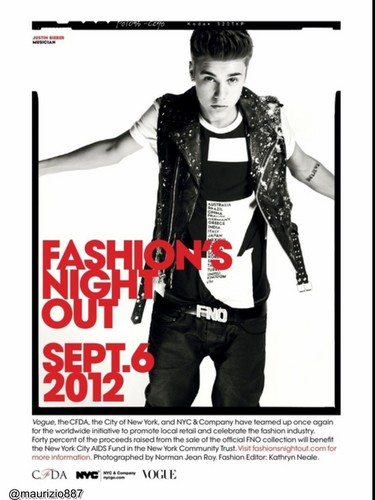 justin bieber Vogue Magazine 2012 - justin-bieber Photo