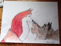 my balto drawing - balto photo