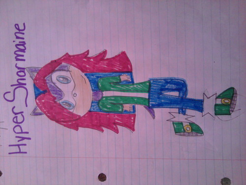 my drawings of sharmaine