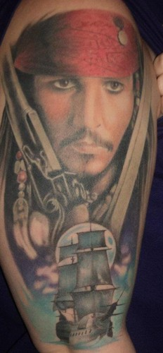Johnny depp images my jack sparrow tattoo wallpaper and for Captain jack sparrow tattoo