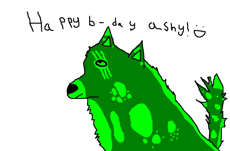 my wolf (please don'y mind the words this was for my sis)