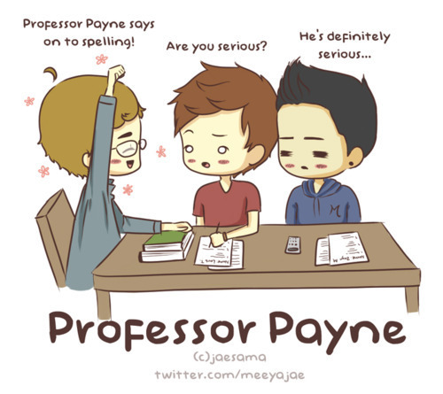 professer liam...? really?