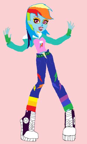 虹 dash