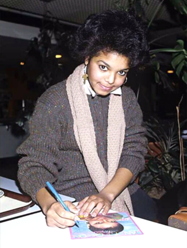 rare young janet pics
