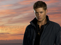 riding off into the sunset - dean-winchester wallpaper