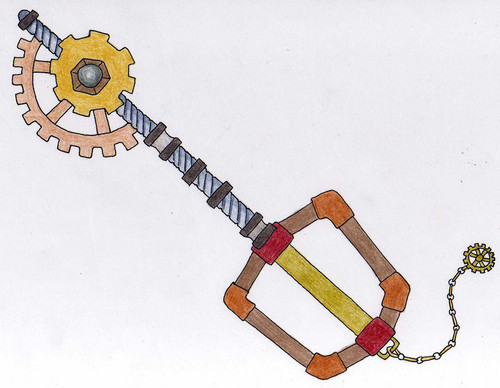 saw a steam punk rp so here is a steampunk type weapon