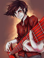 sexiness - marshall-lee fan art