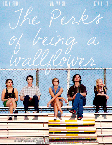 Filem kertas dinding containing a chainlink fence entitled the Perks of being a wallflower