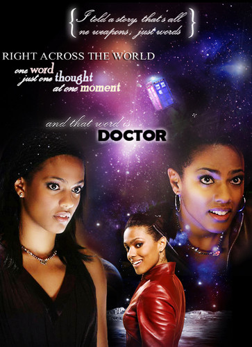 Doctor Who wallpaper possibly containing a portrait called the story of Martha Jones