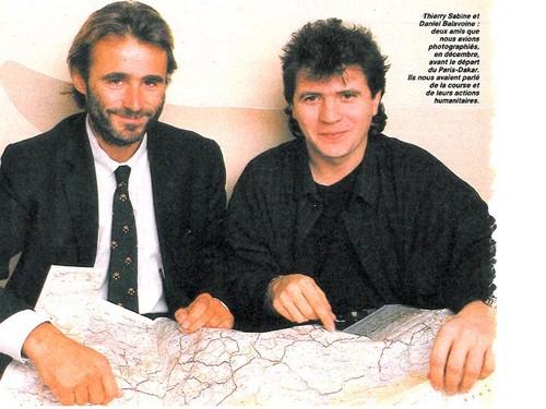 thierry sabine and Daniel Balavoine died plane crash Jan 14, 1986