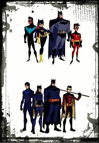 two versions of the bat family