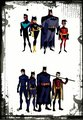 two versions of the bat family  - barbara-gordon-and-dick-grayson photo