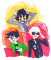 you started a memo - homestuck-fans fan art