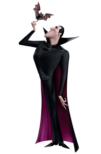 Hotel Transylvania Обои probably containing a коктейль dress called ☆ Dracula ★