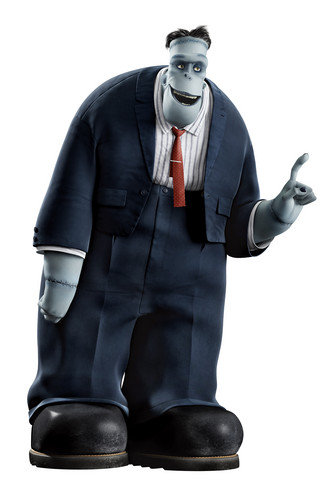 Hotel Transylvania kertas dinding possibly containing a business suit and a well dressed person entitled ☆ Frank ★