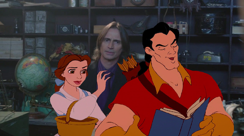 """Gaston! Give me back my book please!"""