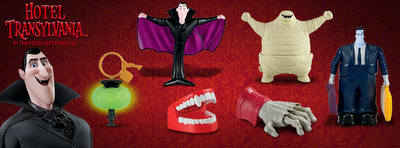 Hotel Transylvania Обои possibly with a sign called ☆ Hotel Transylvania McDonalds Toys ★