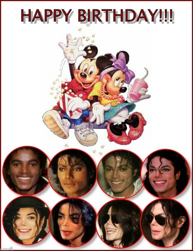 ♥ ♥ ♥ IT'S MICHAEL'S BIRTHDAY ♥ ♥ ♥