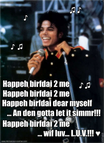 ♪ ♫ MICHAEL'S BIRTHDAY SONG ♫ ♪