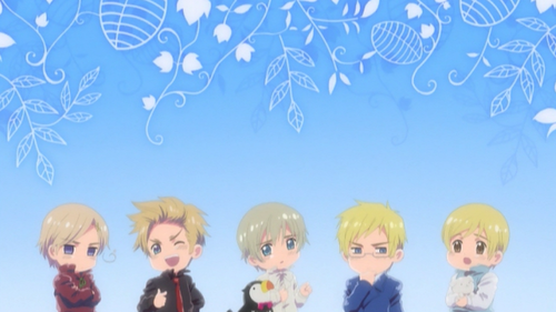 Hetalia پیپر وال titled ~Nordic Countries~