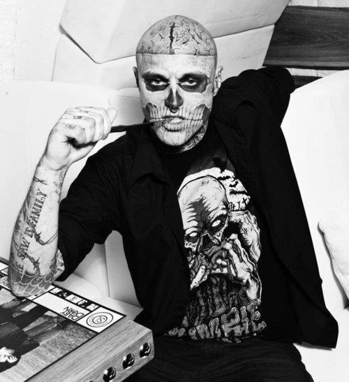 rick genest zombie boy - photo #30