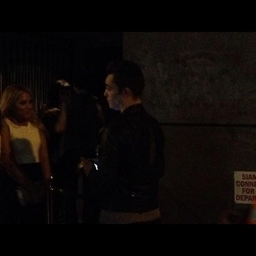 """Spotted Ed westwick outside NO8 last night"""