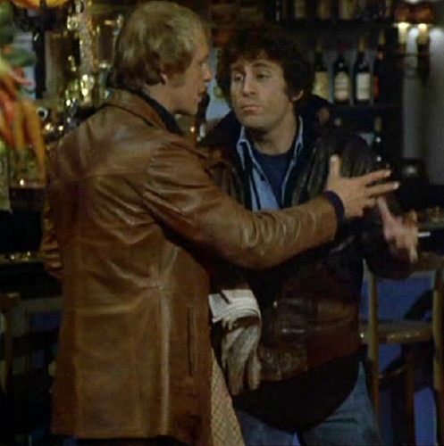Starsky and Hutch (1975) wallpaper containing a wine bar, a brasserie, and a diner titled ☆ Starsky & Hutch ☆