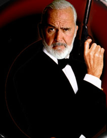 007, Sean Connery Impersonator