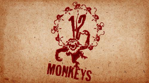 12 Monkeys kertas dinding