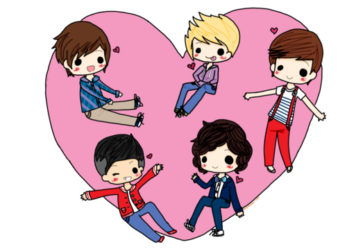 1D (cartoon version)