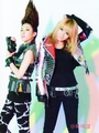2ne1 exile magazine - dara-2ne1 photo