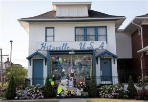 A Makeshift Memorial In Honor Of Michael At Hitsville U.S.A. In Detroit, Michigan